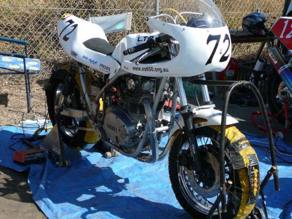 Australischer XS650-Racer