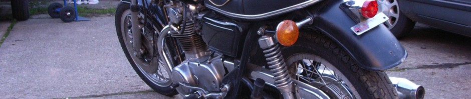 Yamaha XS650 447 Custom Umbau Classic Bike Vintage Twin Oldtimer Roadster