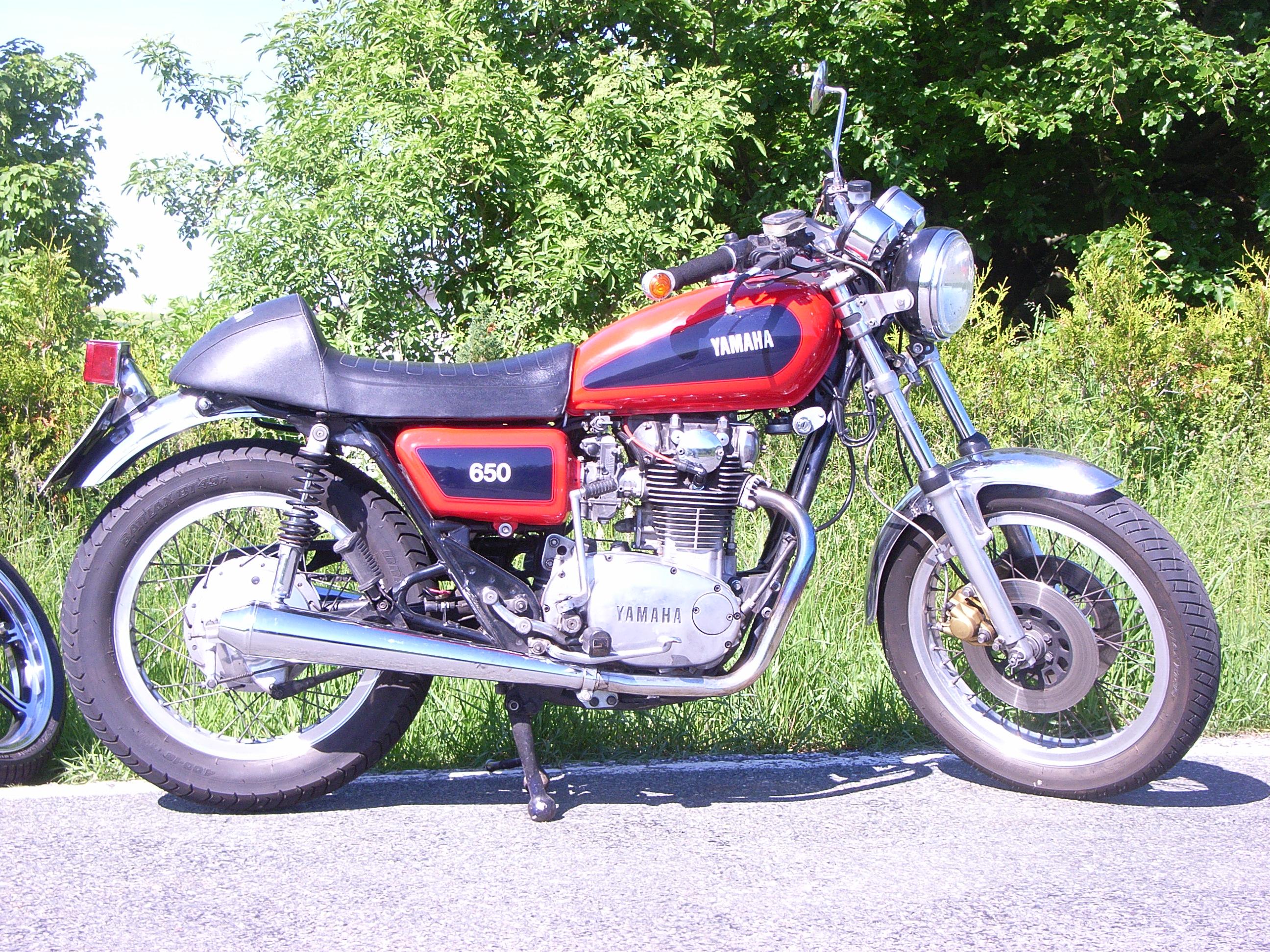 XS650 von Volker