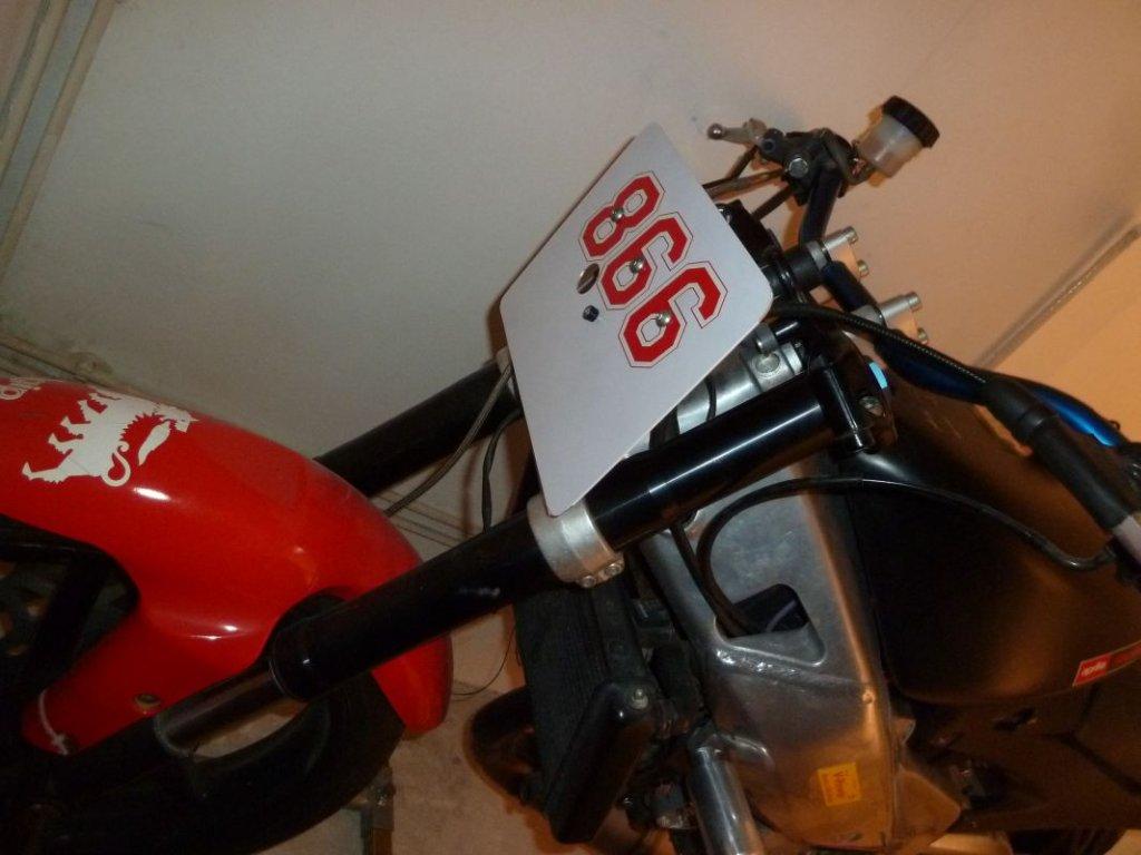 RS125-Startnummer