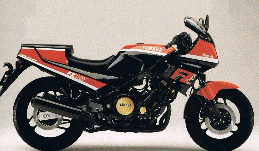 1985 Yamaha FZ750 1FN (Farbvariante 4)