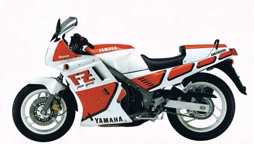 1987 Yamaha FZ750 2KK (Farbvariante 1)