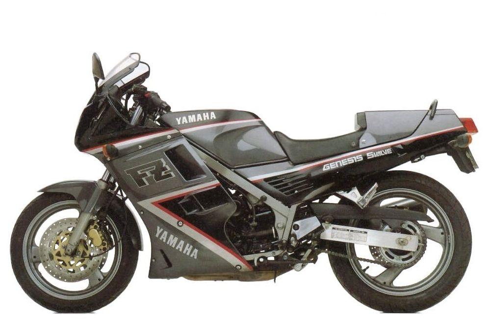 FZ750 Modellhistorie