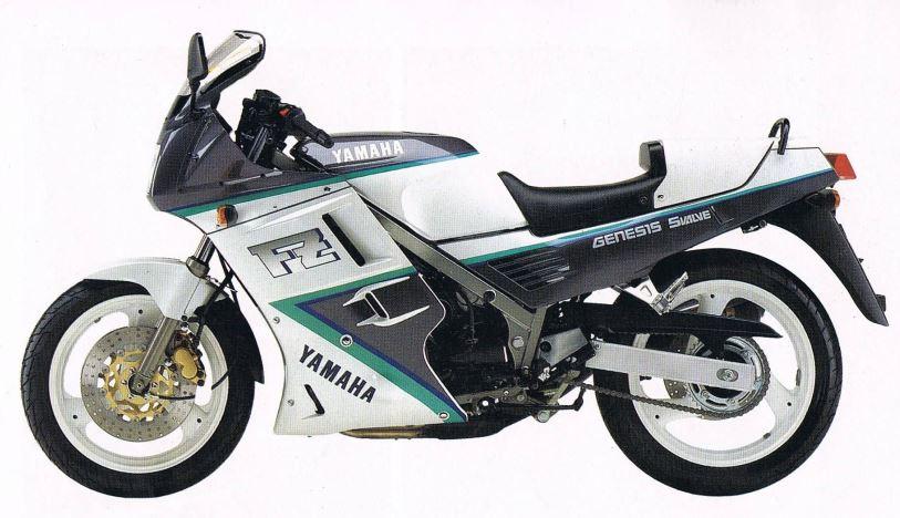 1990 Yamaha FZ750 3KT
