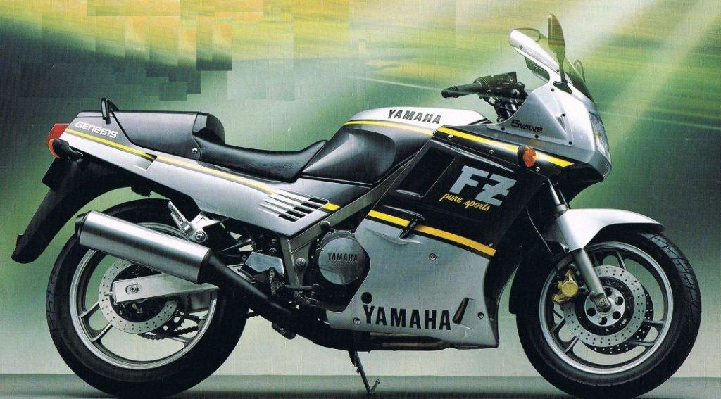 1988 Yamaha FZ750 2KK