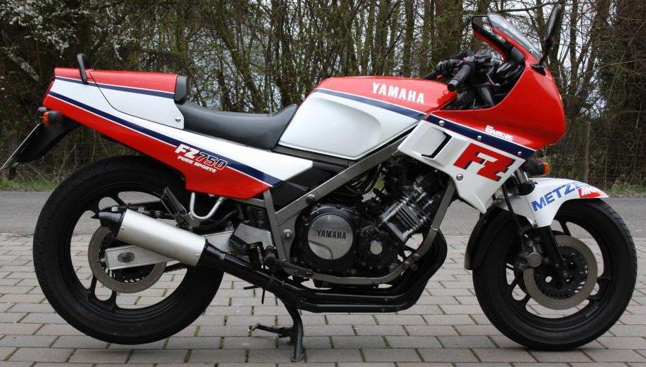 1986 Yamaha FZ750 1FN (Farbvariante 1) von Bernd's Blog