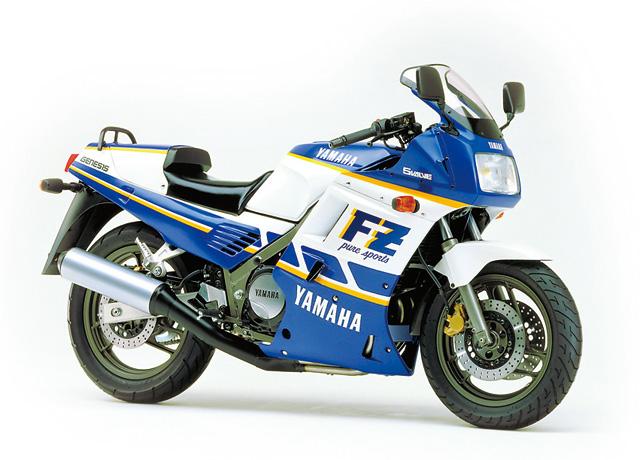 1987 Yamaha FZ750 2KK