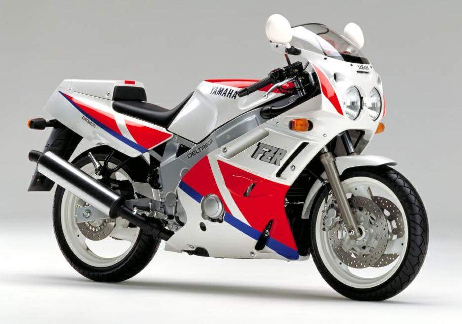 1989 Yamaha FZR600 (Farbvariante 1)