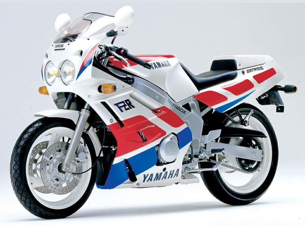 1989 Yamaha FZR600 (Farbvariante 2)
