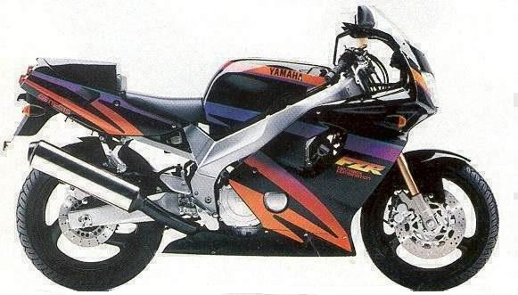 FZR600 Modellhistorie