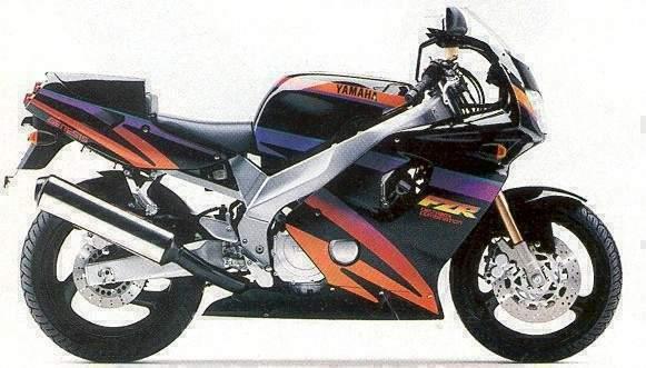 1994 Yamaha FZR600-4jh 1994 (Farbvariante 2)