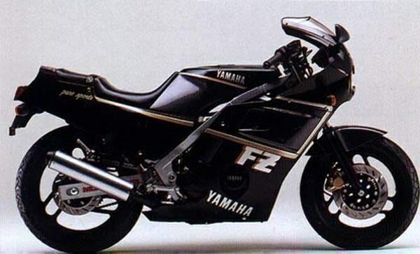 1986 Yamaha FZ400 R