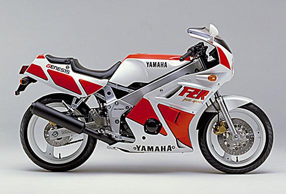 1986 Yamaha FZR400 (Farbvariante 1)