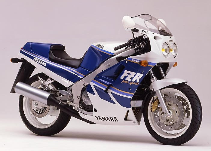 1987 Yamaha FZR1000 2la