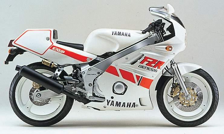 1987 Yamaha FZR400 R