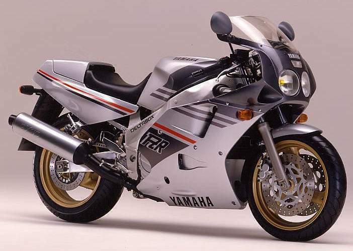 1989 Yamaha FZR1000 3le (Farbvariante 2)