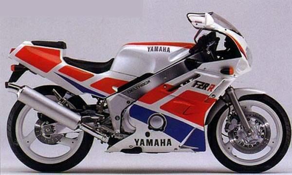 1989 Yamaha FZR400R EXUP 3LN1