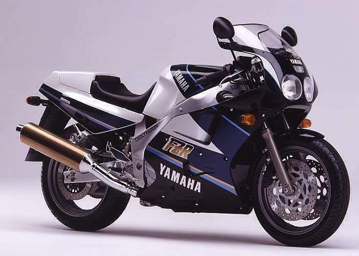 1990 Yamaha FZR1000 3le (Farbvariante 3)