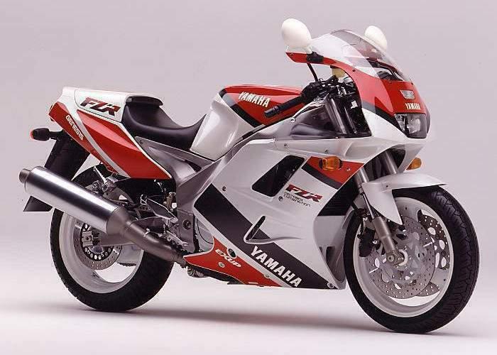 1992 Yamaha FZR1000 3le (Farbvariante 1)