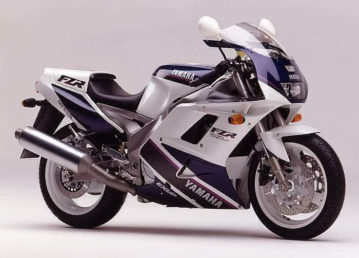 1992 Yamaha FZR1000 3le (Farbvariante 2)