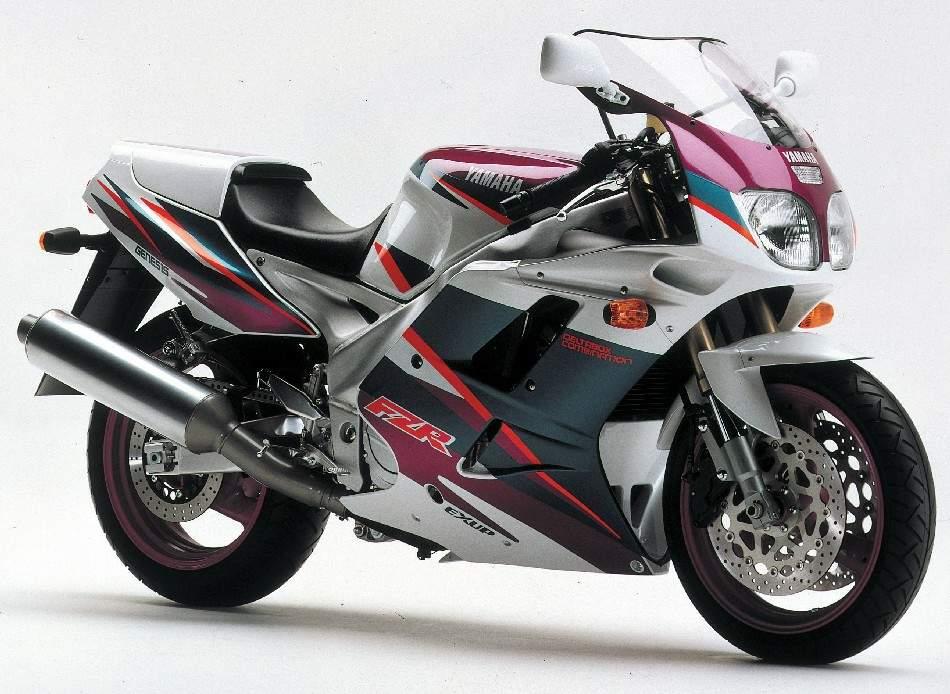 Modellhistorie Yamaha Fzr1000