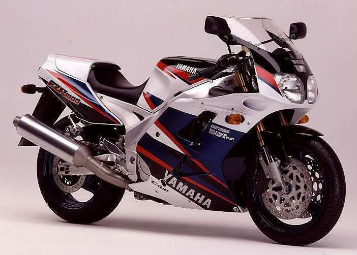 1994 Yamaha FZR1000 3le (Farbvariante 3)