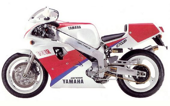 FZR/YZF750 Modellhistorie